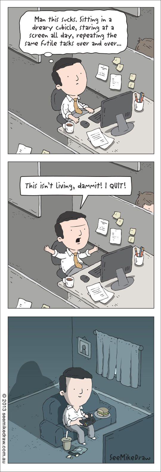 Quit Job Funny Funny i Quit This Job