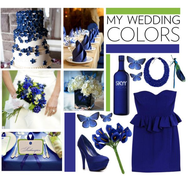 Wedding Color Royal Blue