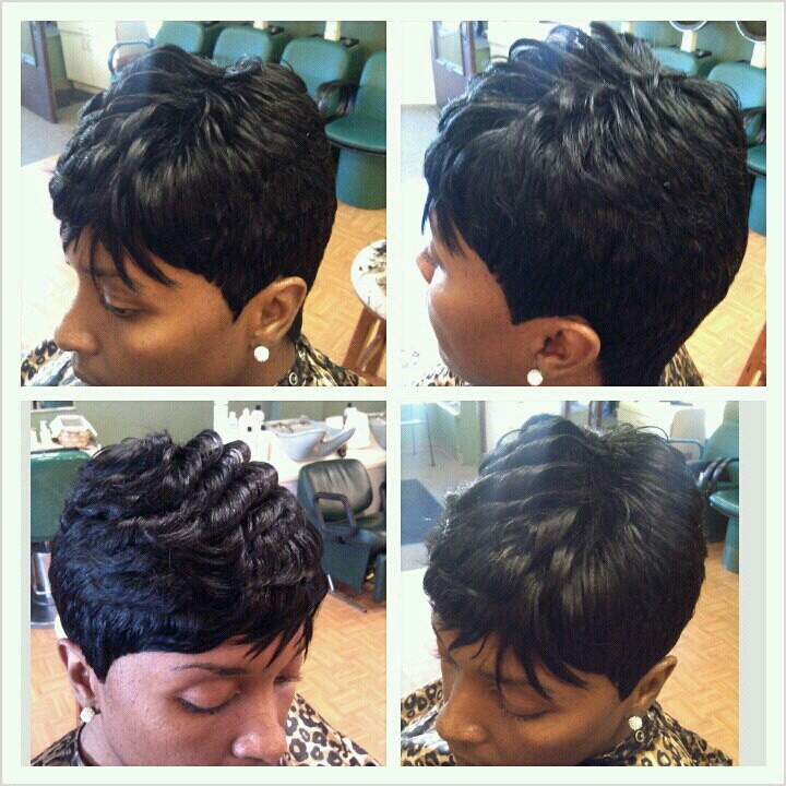 weave hairstyles with side bangs for prom