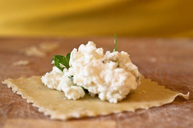 Homemade Ravioli with Fresh Ricotta - recipe for Homemade Ricotta also ...