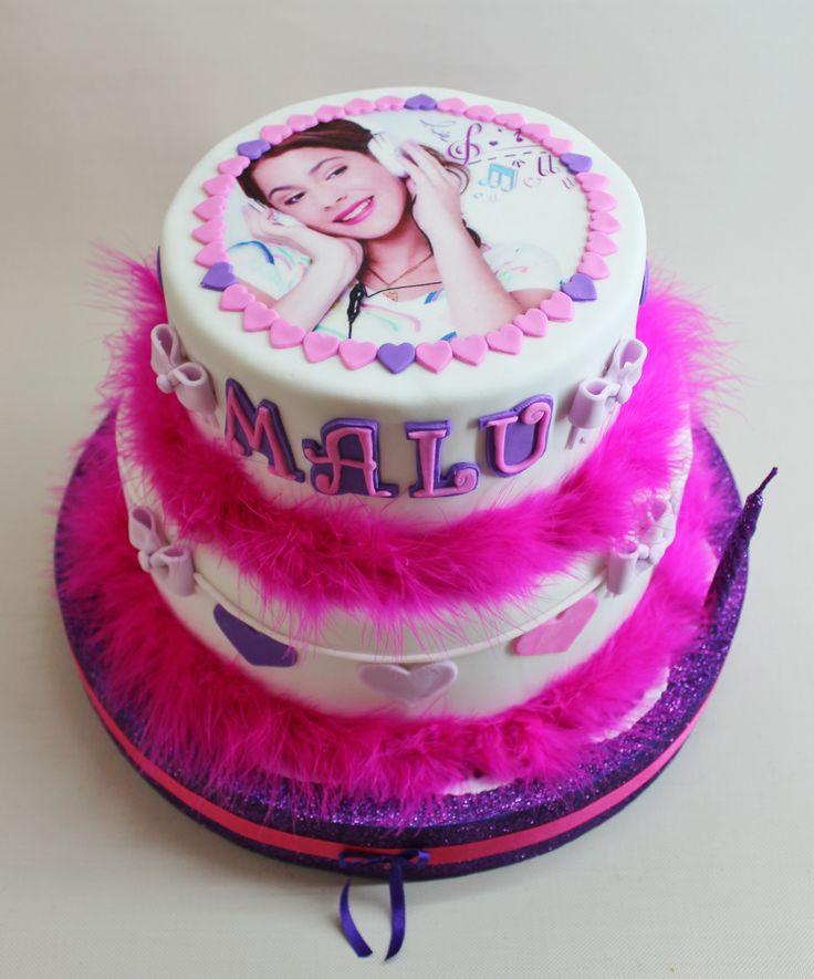 Violetta Disney Cake by Violeta Glace Birthdays Cakes ...