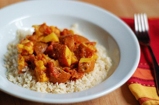 Quick Recipe: Potato and Cauliflower Curry Recipes from The Kitchn
