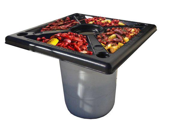Peel N Toss Cajun Crawfish Tables