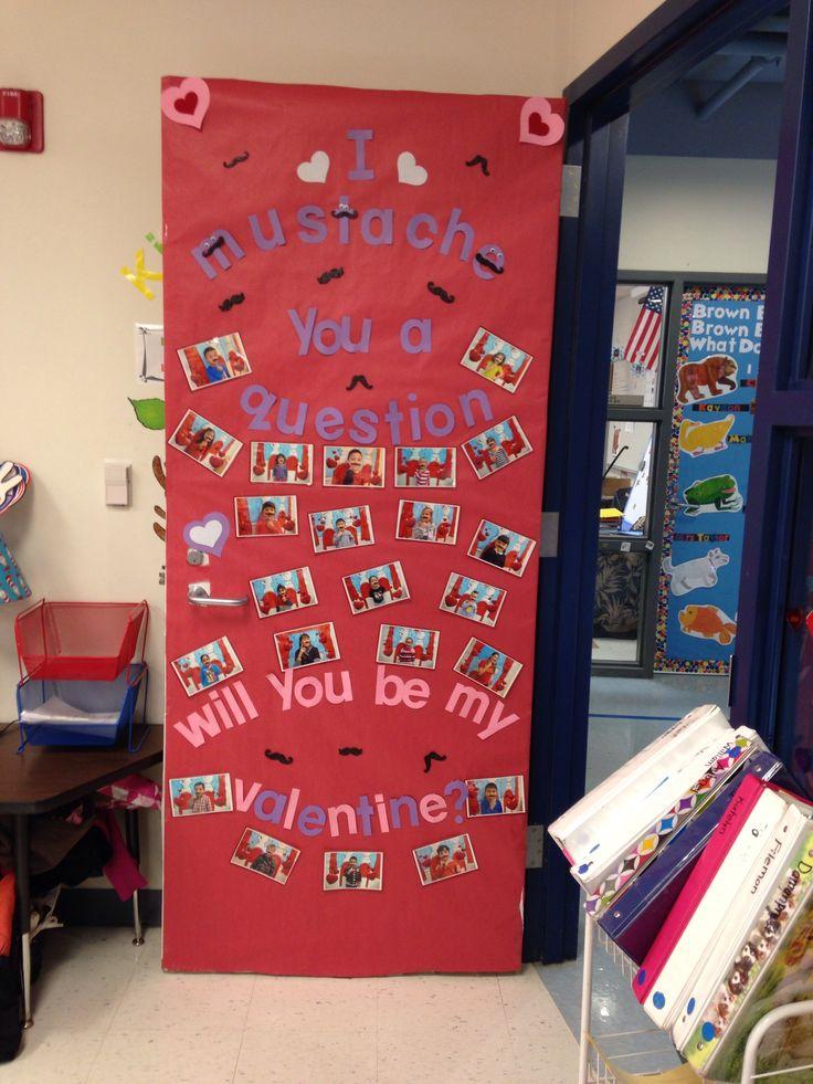 Valentine classroom door decor idea mrs ali 39 s classroom for Door mural ideas