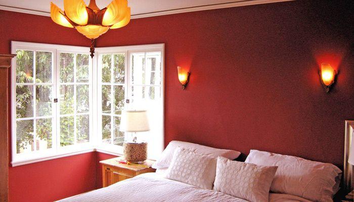 red bedroom master bedroom