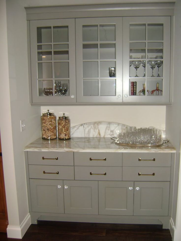 Gray cabinets krista kitchen pinterest - Gray painted kitchen cabinets ...
