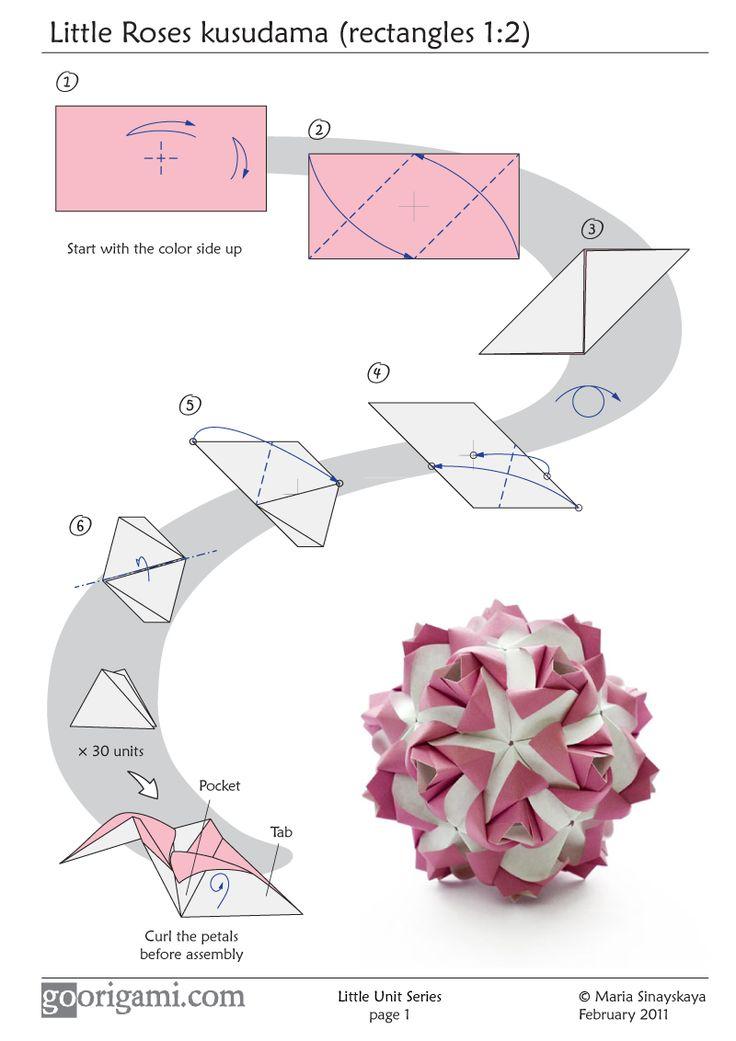 Объемные шары из бумаги своими руками кусудамы и оригами