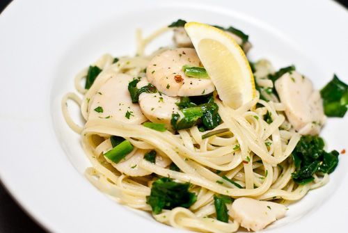 RAMP AND SCALLOP LINGUINE