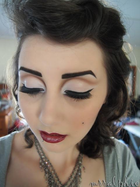 50s Makeup   Grease   Pinterest