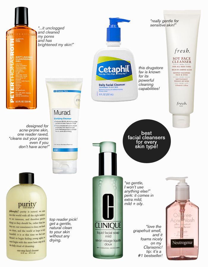 Facial products Best cleansing