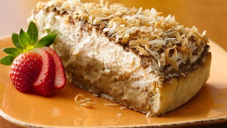 Mascarpone, an Italian cream cheese, and whipped topping combine in a ...