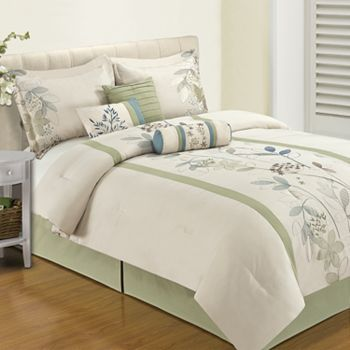 home classics devon 7 pc comforter set master bedroom