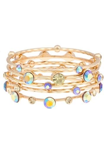 Emmeline Opal Bangles via SendTheTrend