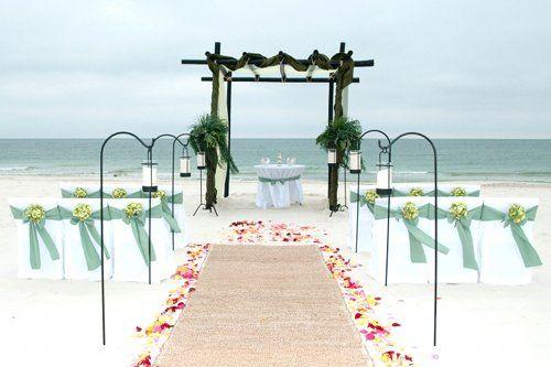 Beach Wedding Ceremony Decorations : Beach wedding ceremony decorations weddings more