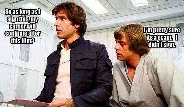 Star Wars career humor