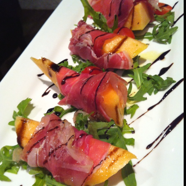 Parma ham with melon... | Food! have a passion and share it. | Pinter ...