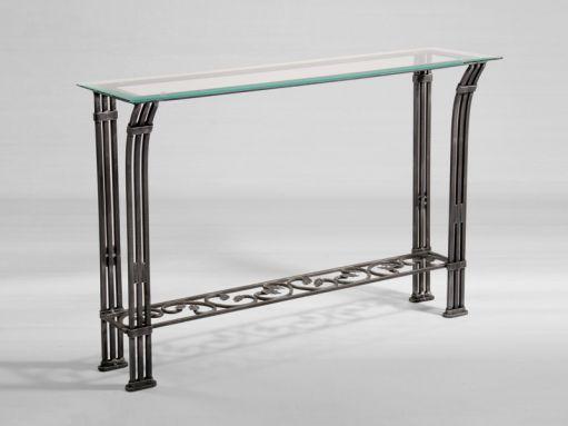 console rectangulaire en fer forg deco art de vivre pinterest. Black Bedroom Furniture Sets. Home Design Ideas