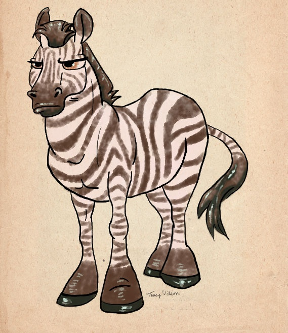 Zebra Character Design : Zebra for my niece character design pinterest
