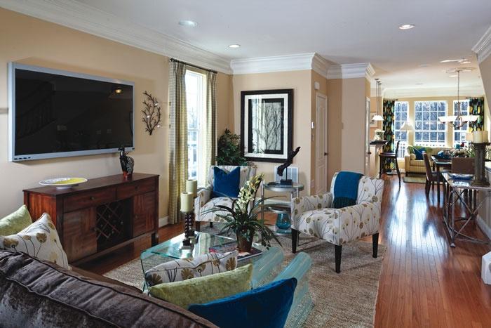 family room ideas   Dream Home   Pinterest