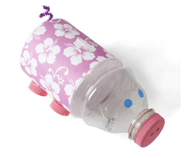recycled piggy bank kidscraft craft sparks ideas