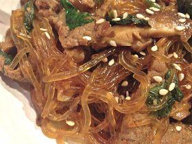 the preppy paleo: Stir-fried Kelp Noodles w Beef & Spinach
