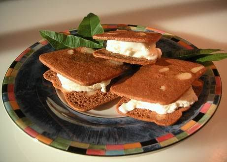 Lemon Verbena Ice Cream Sandwiches | Scream & Sorbet | Pinterest