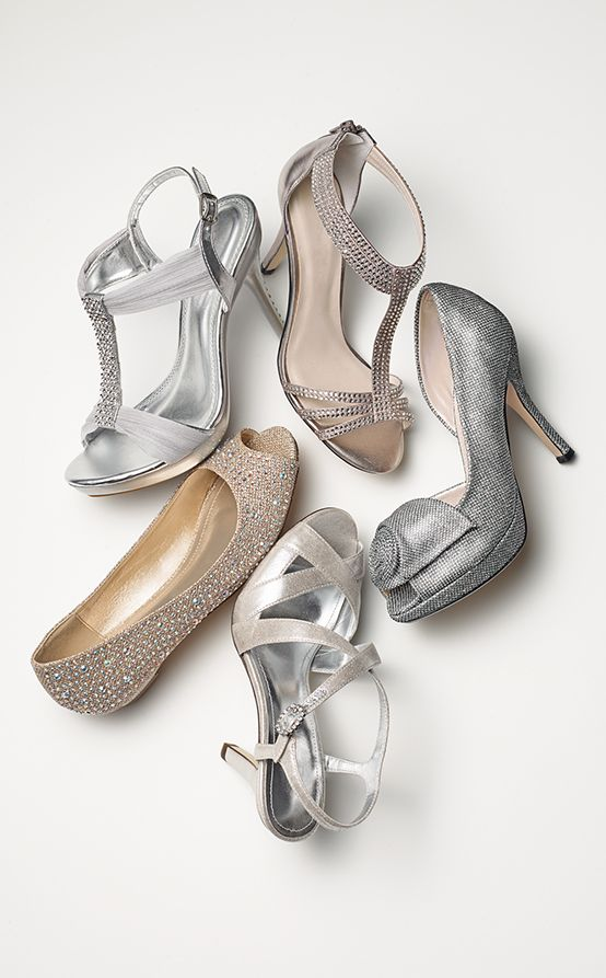 Make sure your accessories shine on your wedding day with a hint of sparkle on your shoes.