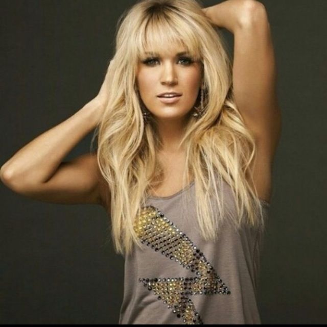 Carrie Underwood Hair Amp Beauty Pinterest