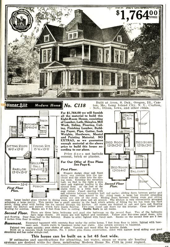 sears homes floor plans the daily bungalow compare sears kit homes the dover
