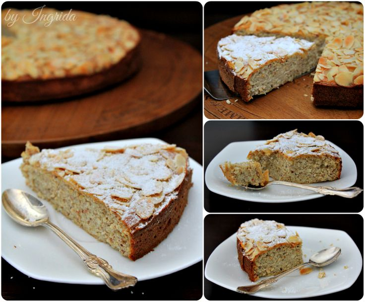 Flourless Lemon Almond Cake Recipe — Dishmaps