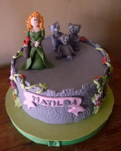 Brave cake