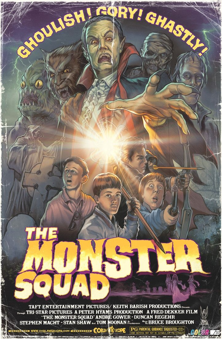 The monster squad movies n rum pinterest