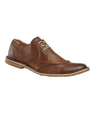 light brown citebat dress shoe