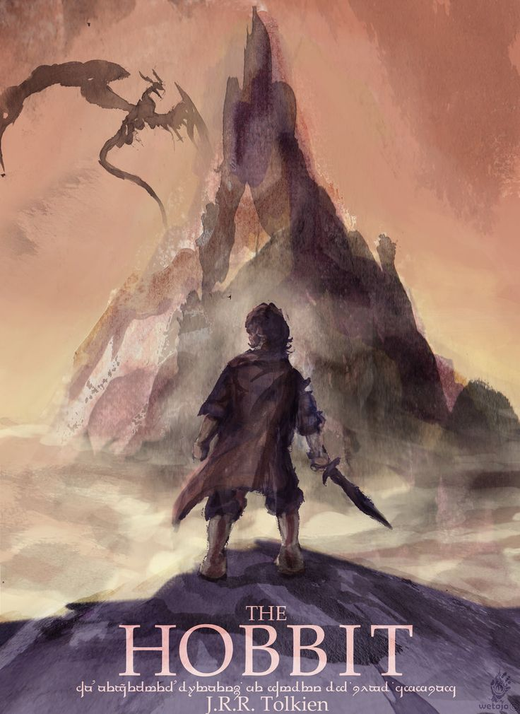The Hobbit Old Book Cover ~ Hobbit book cover geek is chic pinterest