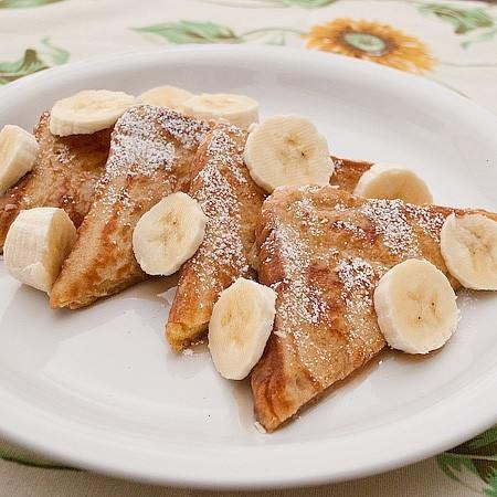 Fluffy french toast | Food and Drink recipes | Pinterest