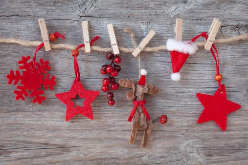 rustic christmas decorations, christmas banner