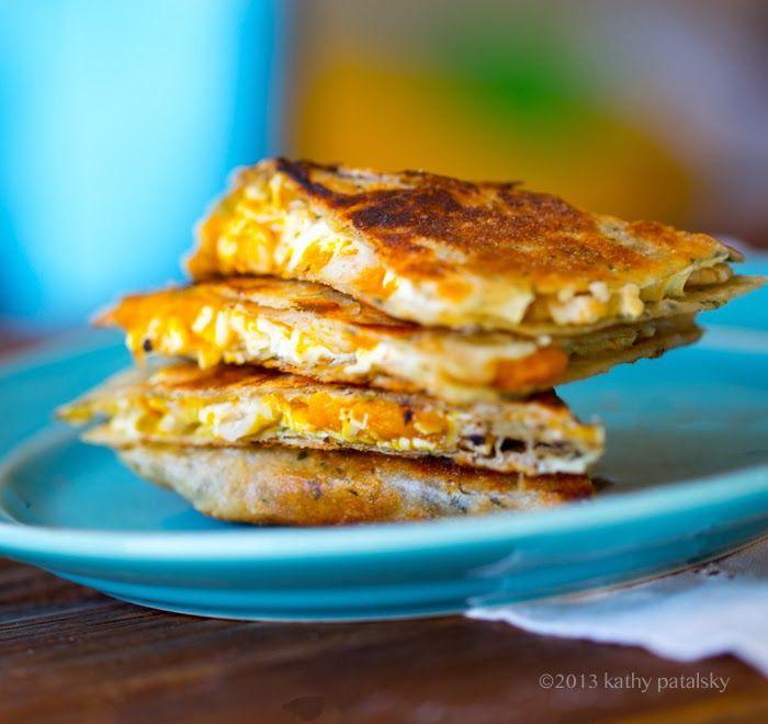 ... Life. | Vegan Blog | Vegan Recipes Maple-Pumpkin White Bean Quesadilla