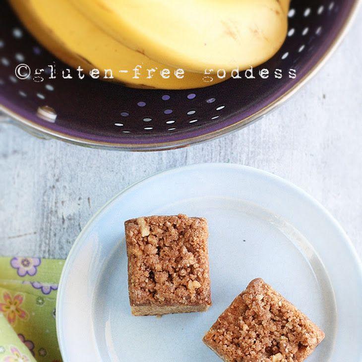 Gluten-Free Banana Crumb Cake Recipe   Gluten-Free Goodies   Pinterest