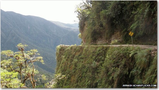 North yungas road bolivia photos from the road pinterest