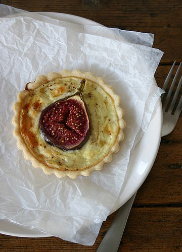 Fig and Goat Cheese Tart | Yummies | Pinterest
