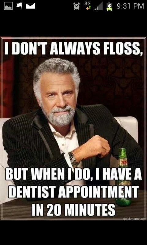 pin dental floss meme - photo #4