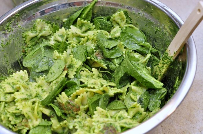 Spinach Pasta | yummy:) | Pinterest