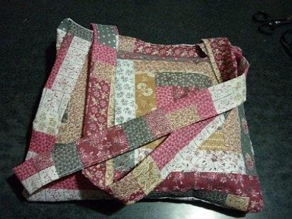 Bolsos hechos en patchwork