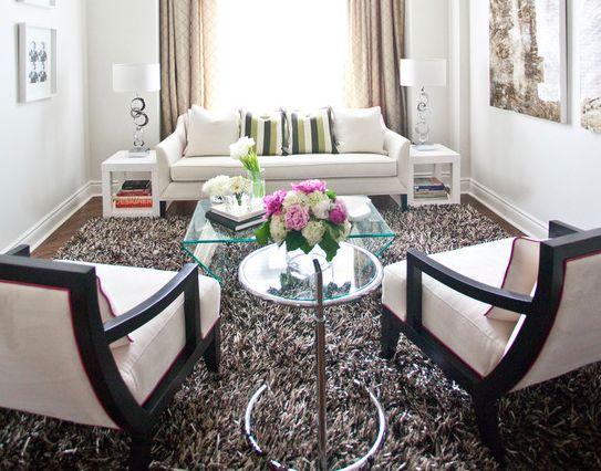 fluffy rug living room ideas pinterest