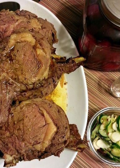 Herb Crusted Rib Roast | THIS AMERICAN BITE | Pinterest