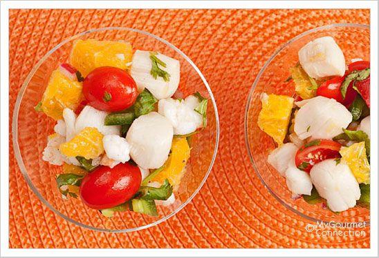 Shrimp and Scallop Ceviche with Tequila   Recipe