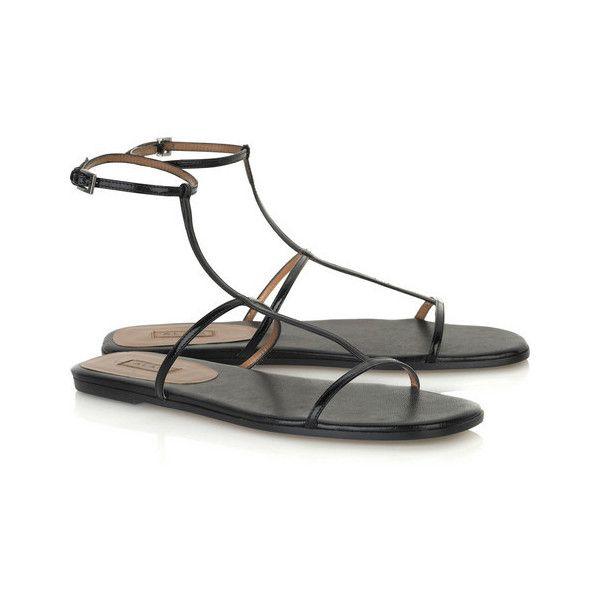 Ala a shoes (net-a-porter.com) liked on Polyvore (see more alaia