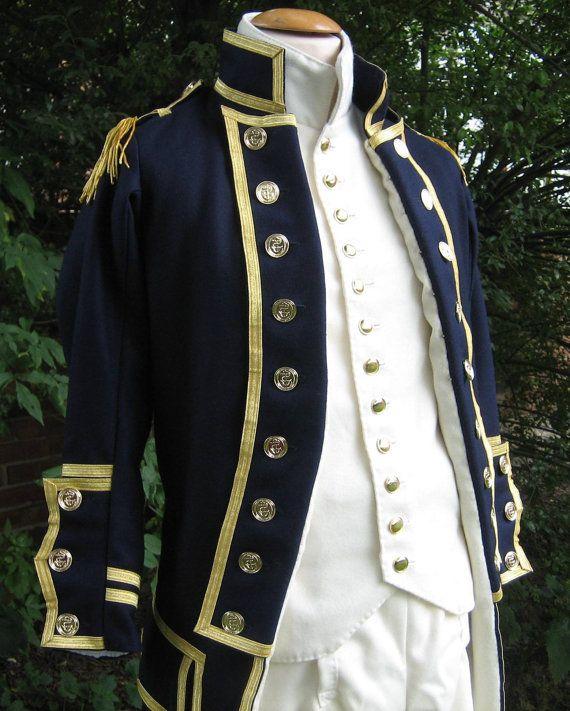 British Royal Navy Uniform, 1795 pattern, Reproduction