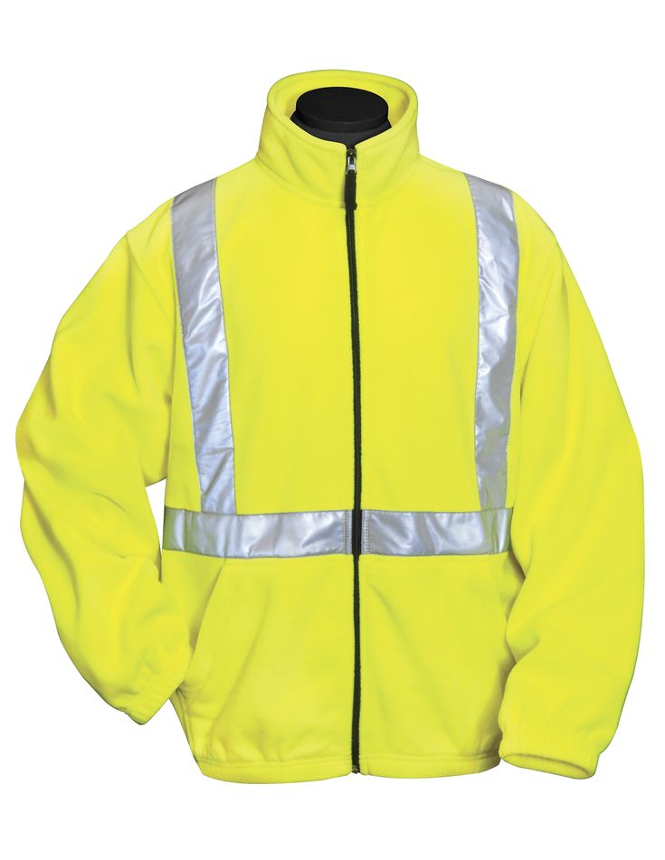 Stay warm and visible with this 9.8 oz. heavyweight 100% polyester