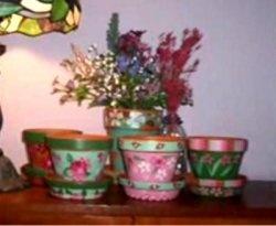 Painting a flower pot craft ideas pinterest